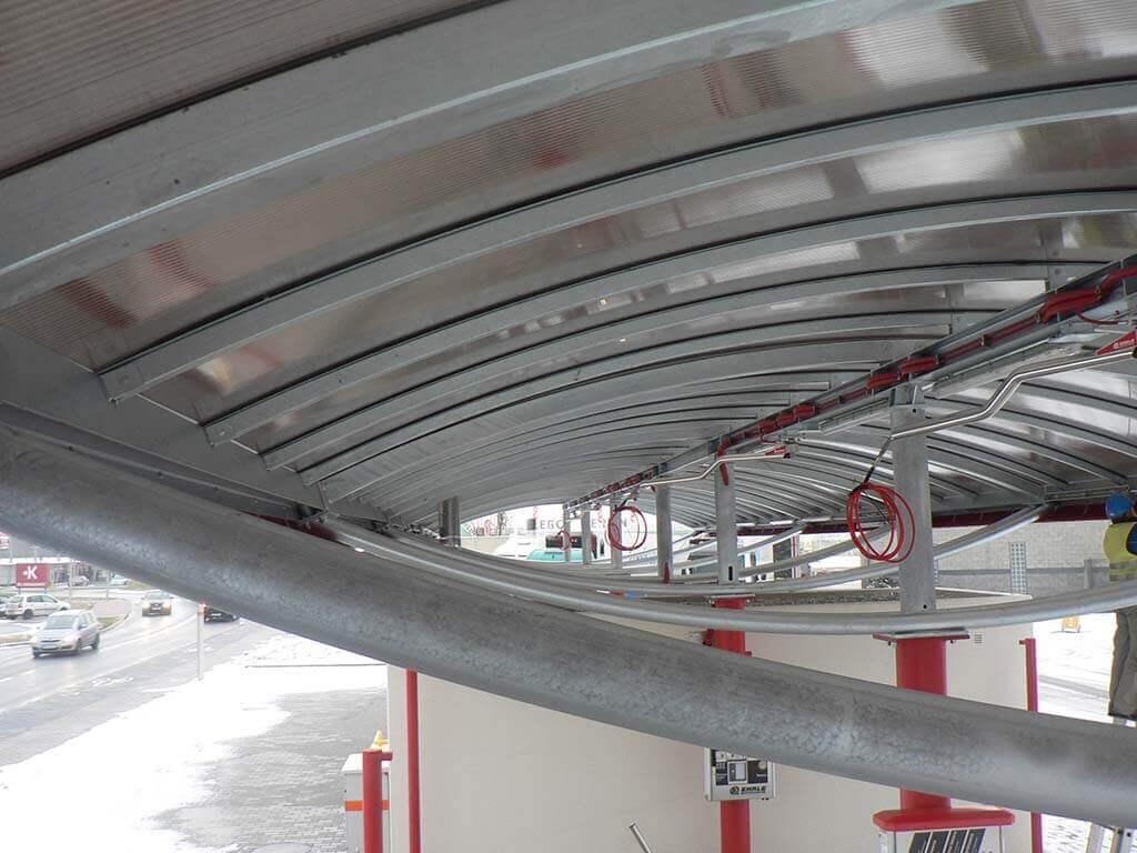 Read more about the article Konstrukcja stalowa myjni samochodowej
