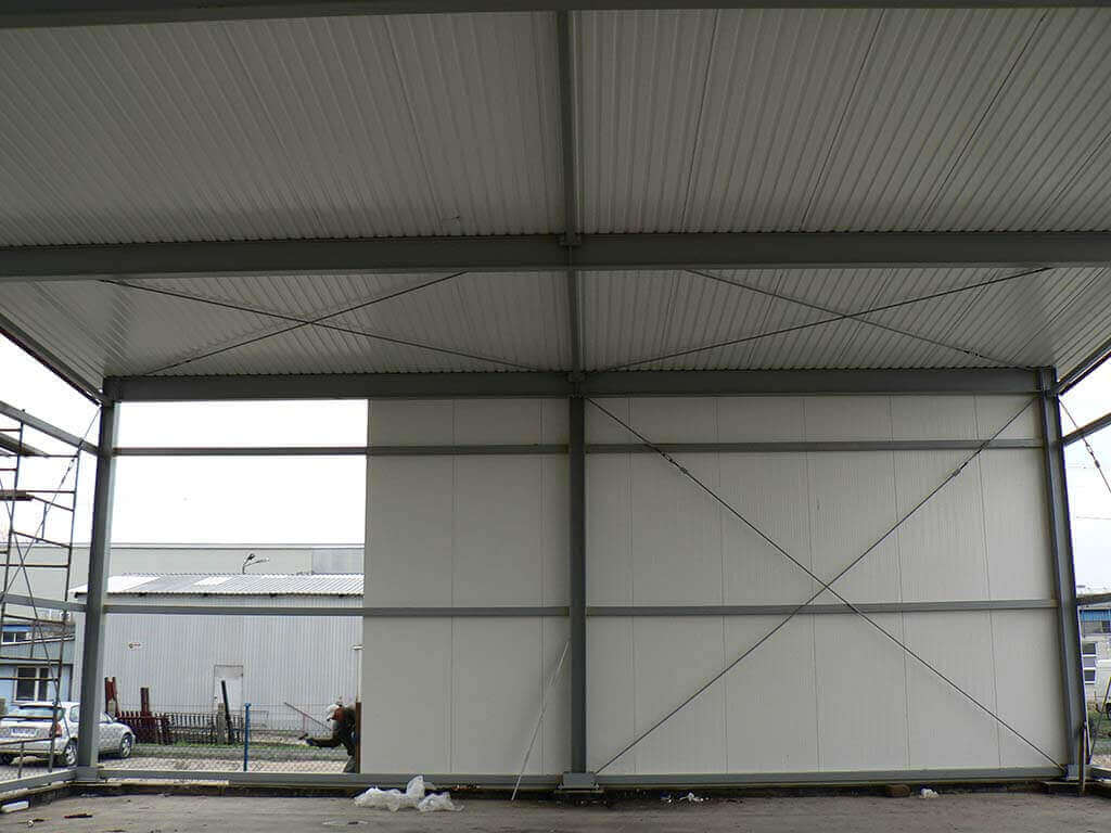 konstrukcje stalowe wiaty