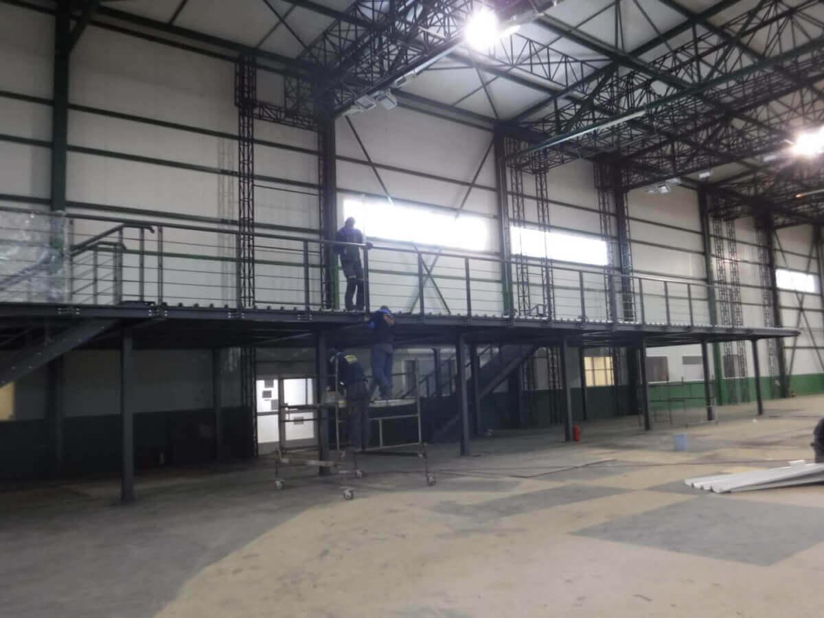 Antresola stalowa przemysłowa Bud-Blach