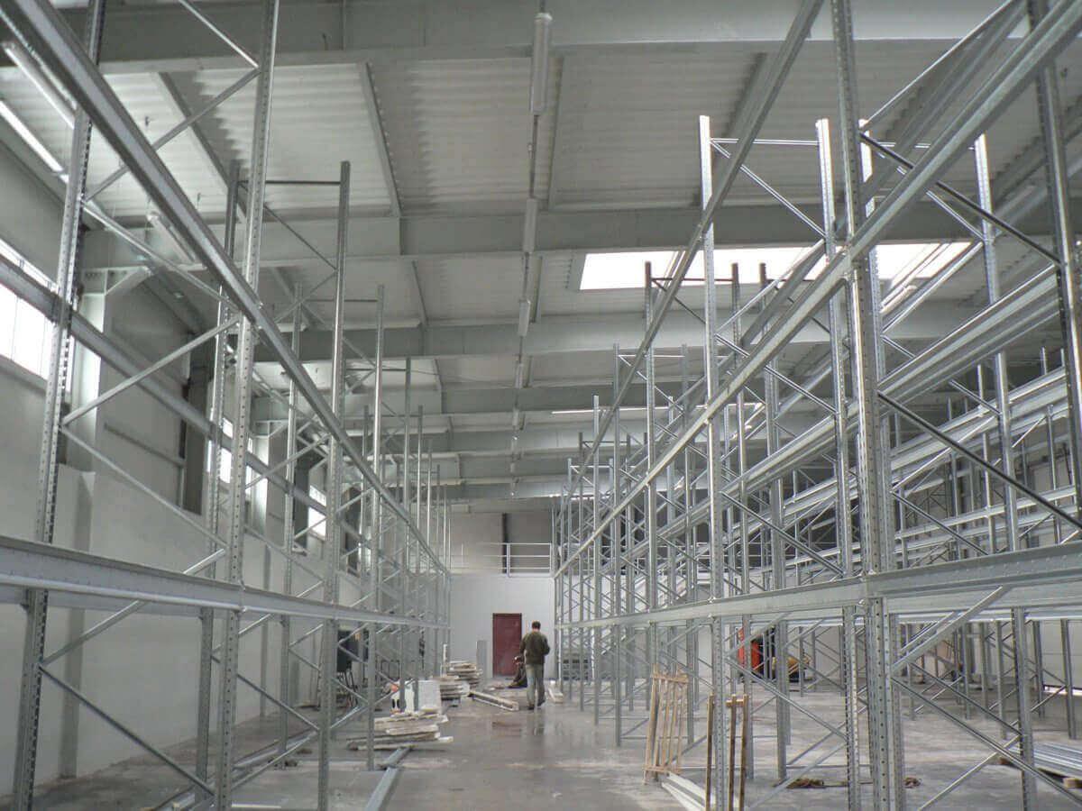 Nowoczesne hale produkcyjne - firma Bud-Blach