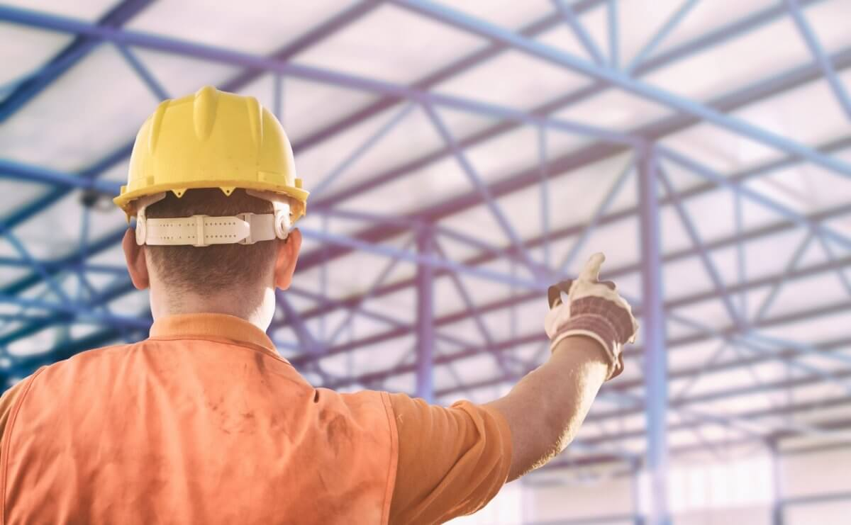 Projekt i budowa hali handlowych - firma Bud-Blach